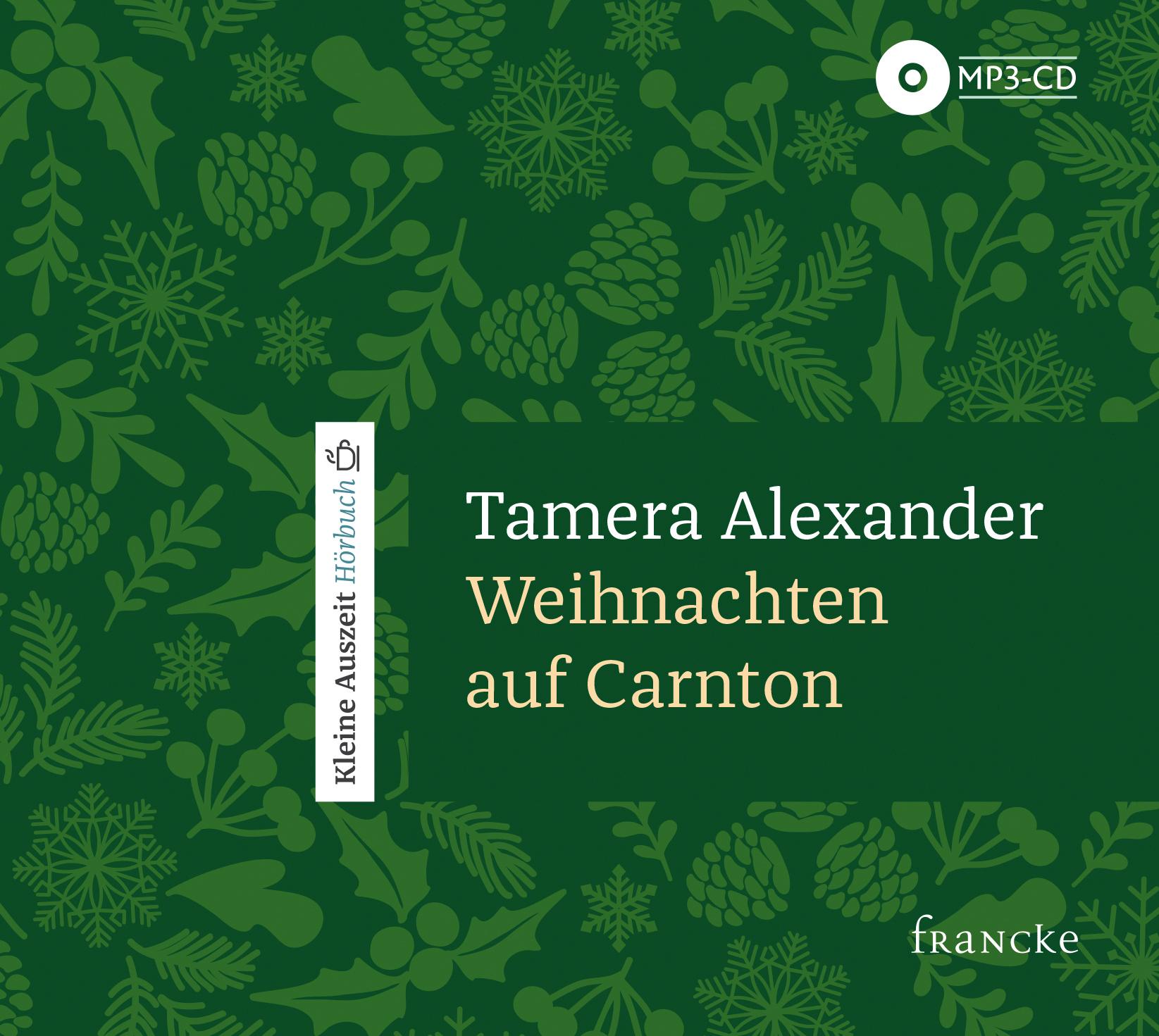 Hörbuch Weihnachten.Francke Weihnachten Auf Carnton Hörbuch Tamera Alexander